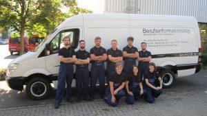 Auch die Auszubildenden des Mercedes-Benz Werks Düsseldorf freuen sich bereits auf die Schülerinnen und Schüler und zahlreiche Gespräche im Rahmen des Berufsinformations- und Bewerbertags. ; ;